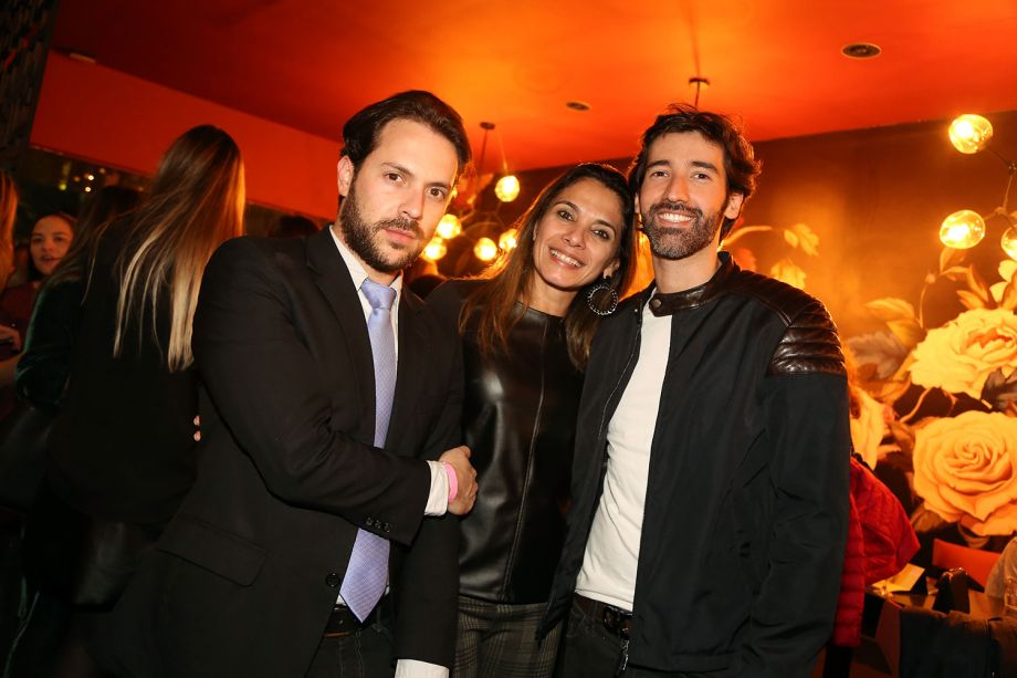 Ronaldo Rigazzo, Iara Machiaverni e Fernando Mota
