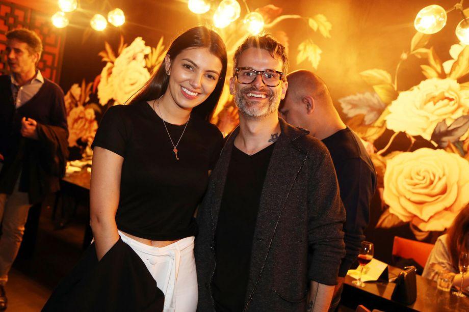 Paula Foresti e Rafael Miliari