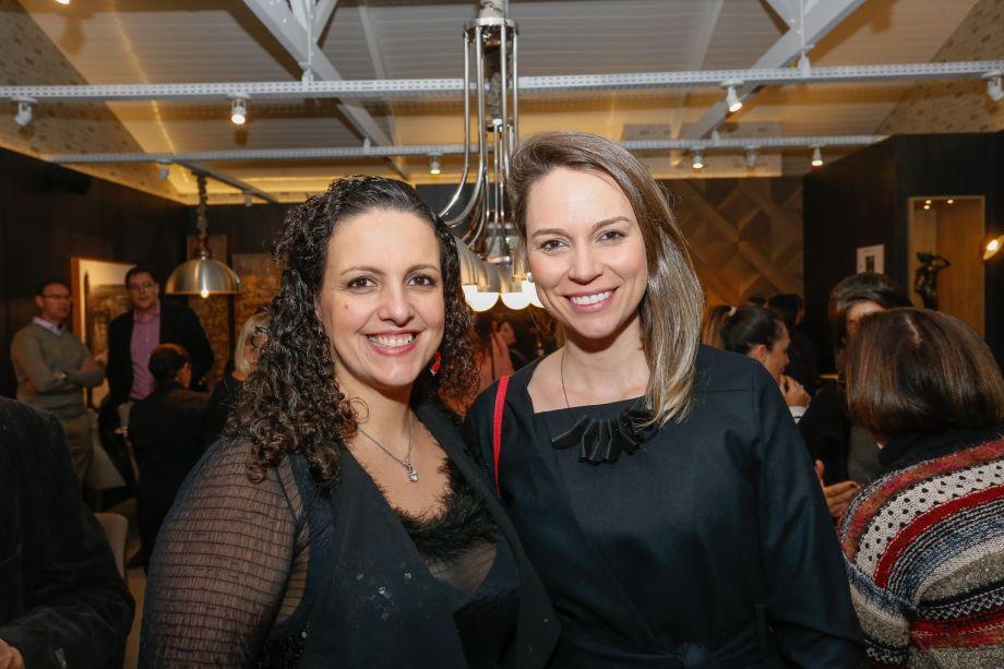 Juliana Zaruch, da Arauco e Juliana Medeiros