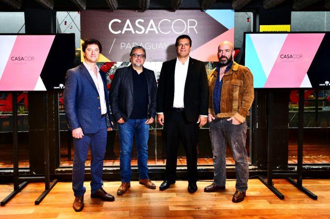 Leonardo Marchiori, Cesar Aquino, Pablo Tome e Nicolas Colaso