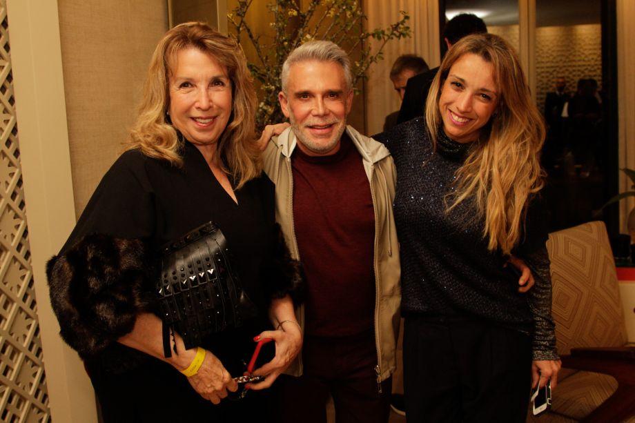 Celina Dias, Leo Shehtman e Ana Paula Dias