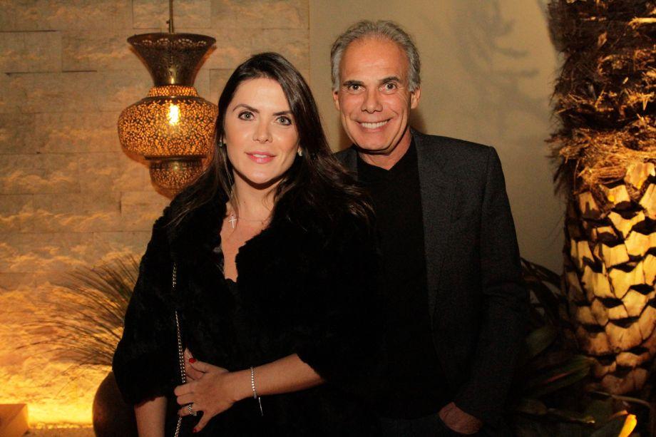 Juliana Sicoli e Luiz Carlos Orsini