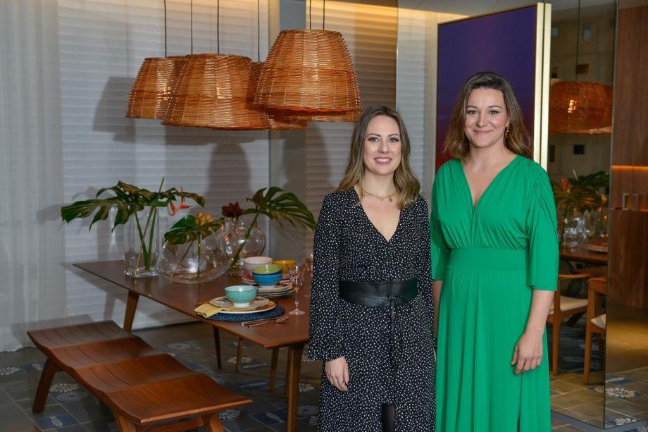 Profissionais Cláudia Stach e Daniela Bordignon