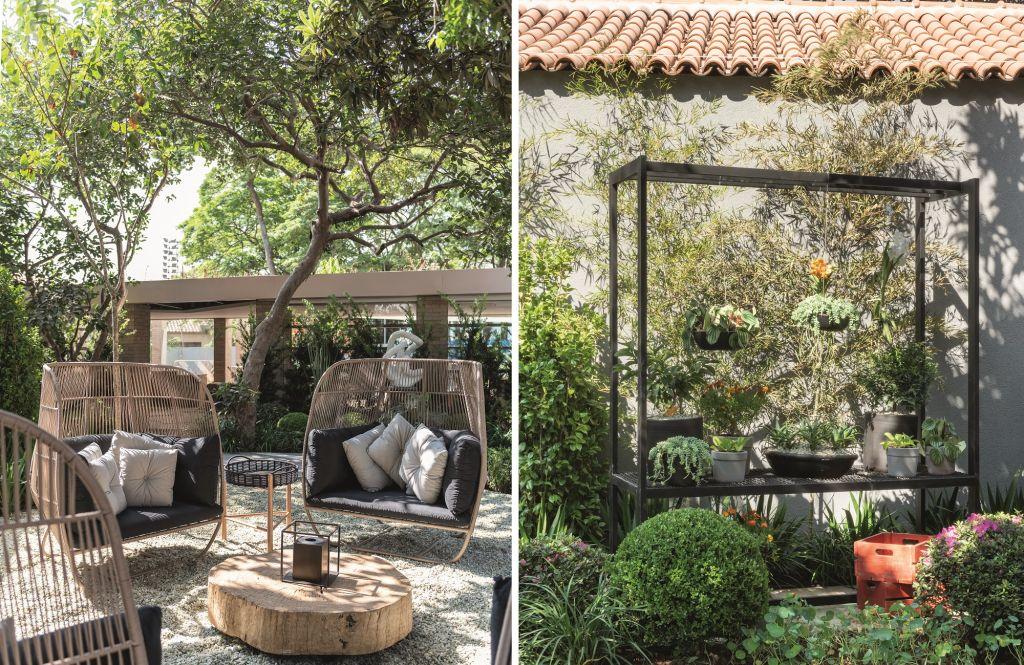 Roberto Riscala jardim suculentas casacor sao paulo 2018 - Na imagem a decoração de jardim criado para o CASACOR São Paulo