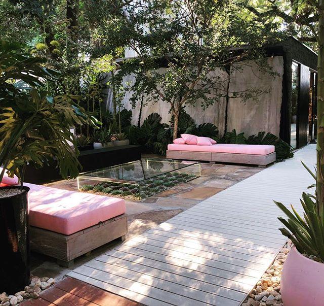 O agave é protagonista em jardim de 200 m² na CASACOR São Paulo 2018