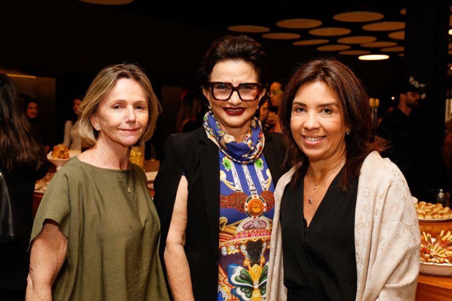 As franqueadas da mostra Sheila de Podestá, Moema Leão e Eliane Martins