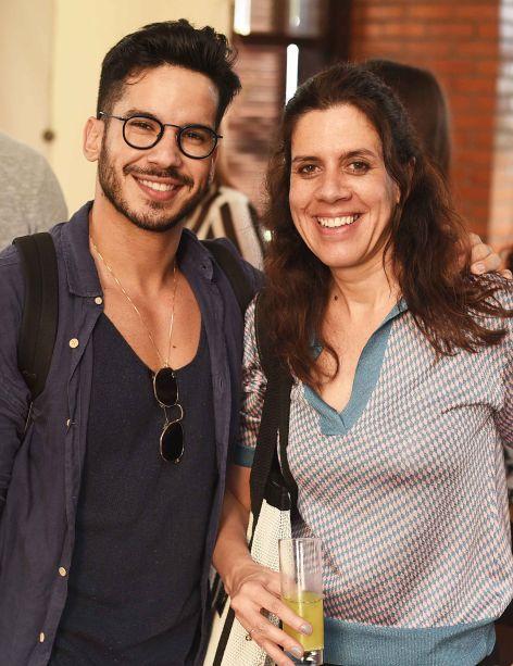 Carlos Carvalho e Camila Avelar