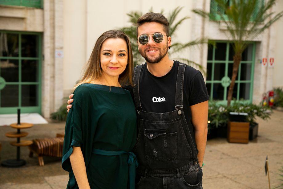 Marcia Carini e Alex Alcantara