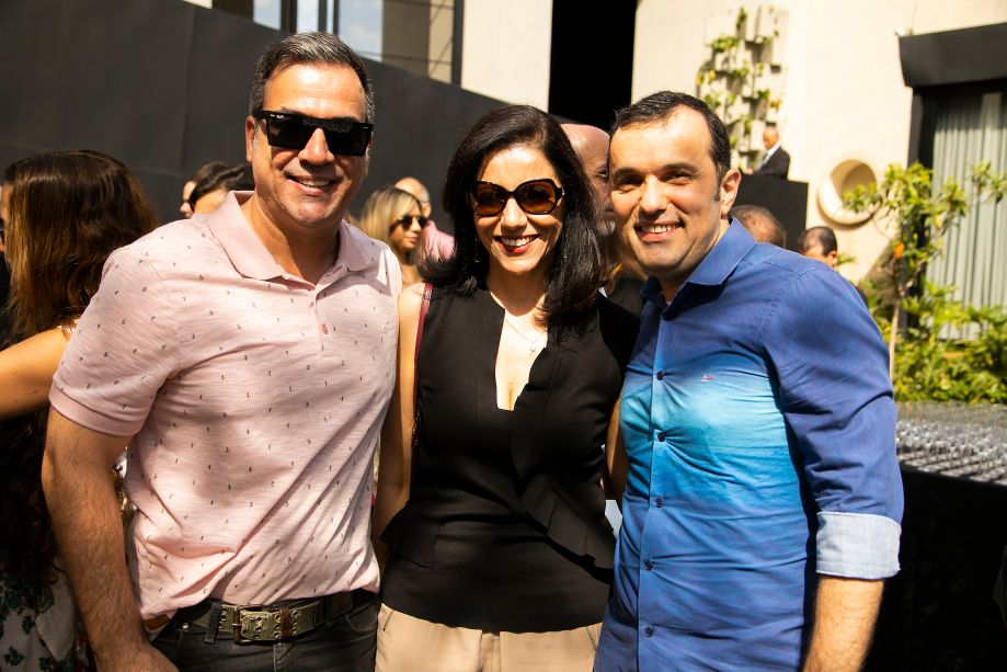Cadu Torres, Cleide Gomes e Marco Frade
