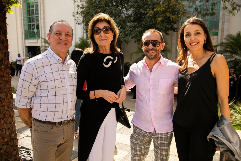 Roberto de Jesus, Cristina Ferraz, José Marton e Cristina Bava.