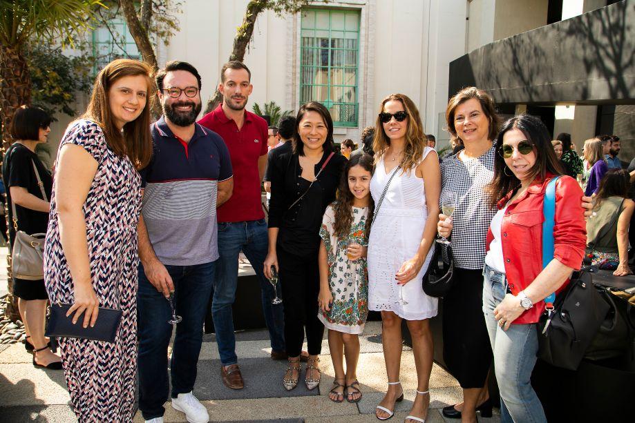 Fernanda Tegacini, Bruno Carvalho, Jean de Just, Naomi Abe, Juliana Borges e Paola Ribeiro