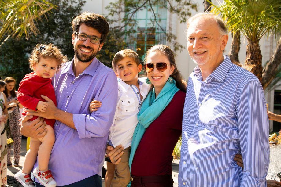 Luiz Henrique Ferreira e família