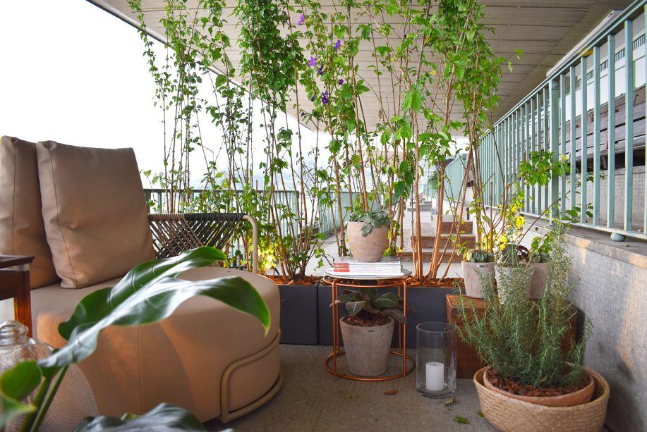 <span>Cozinha Matriz - Triart Arquitetura. A estética rústica e desgastada da construção original foi ressignificada, produzindo uma atmosfera criativa e convidativa.Na varanda, um vaso abriga a bela erva que servirá para as refeições preparadas no ambiente.</span>