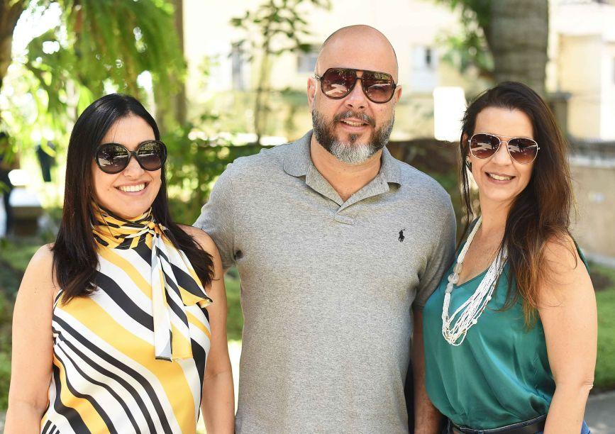 Cristina Cortes, Sandro Ward e Virna Carvalho