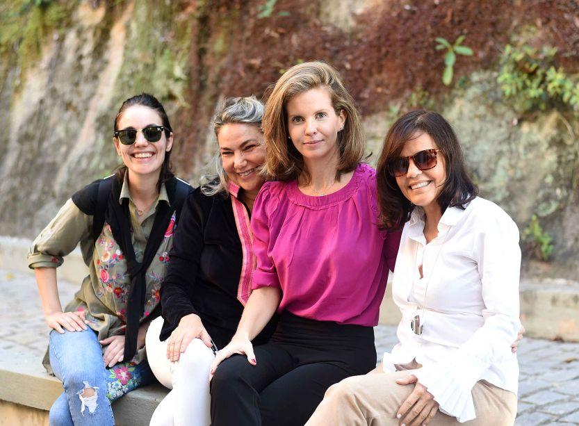 Manu Muller, Marcia Muller, Eva Monteiro de Carvalho e Angela Falcão