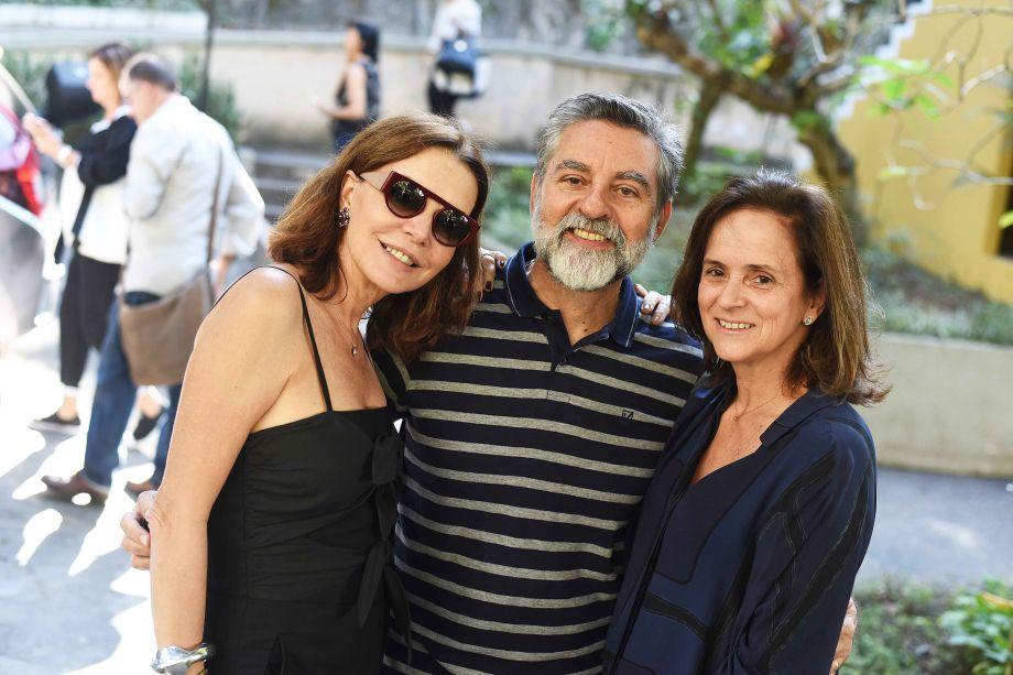 Patricia Mayer, Ivan Rezende e Patricia Quentel