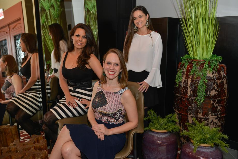Juliane Gasparin, Tatyana Muller e Mariana Marchiori