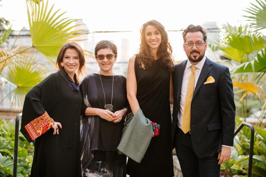 Juliana Grillo, Livia Pedreira, Graziela de Caroli e Eduardo Faleiro