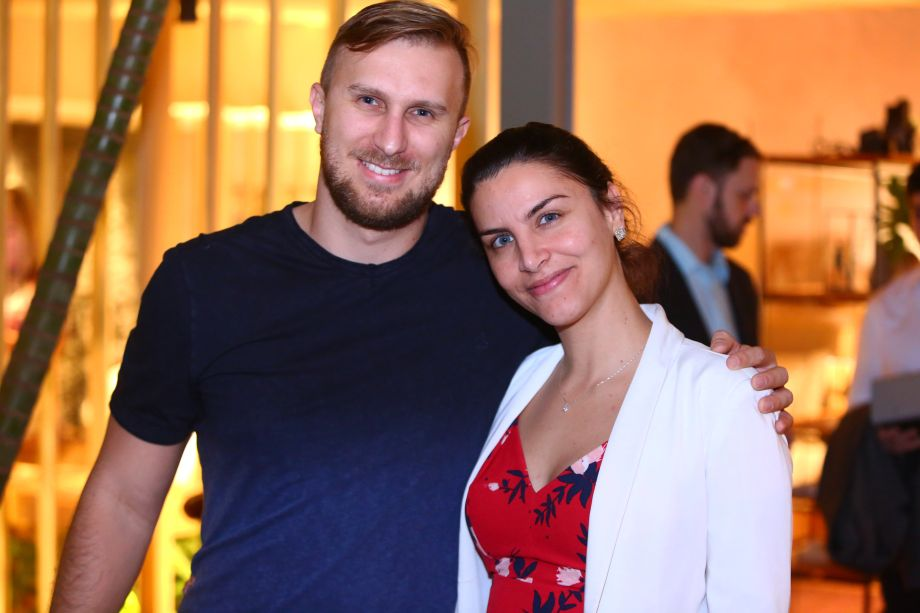 Etore e Joana Mortari