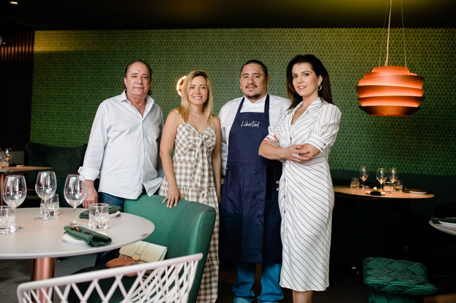 Albano Ribeiro, Renata Dutra, Marco Espinoza e Ivone Carvalho