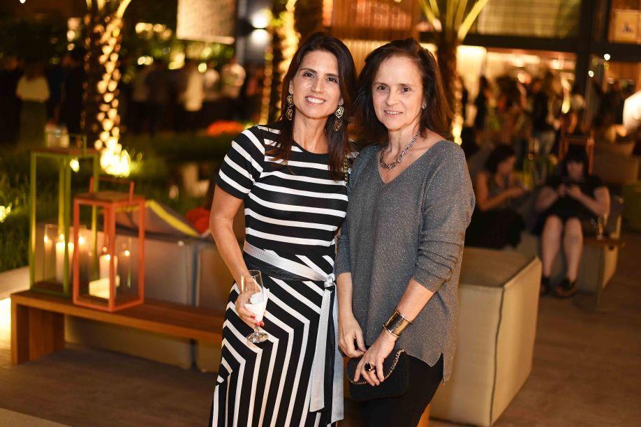 Ana Lúcia Juca e Patricia Quentel