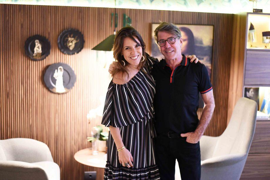 Andrea Neves Duarte e Jairo de Sender