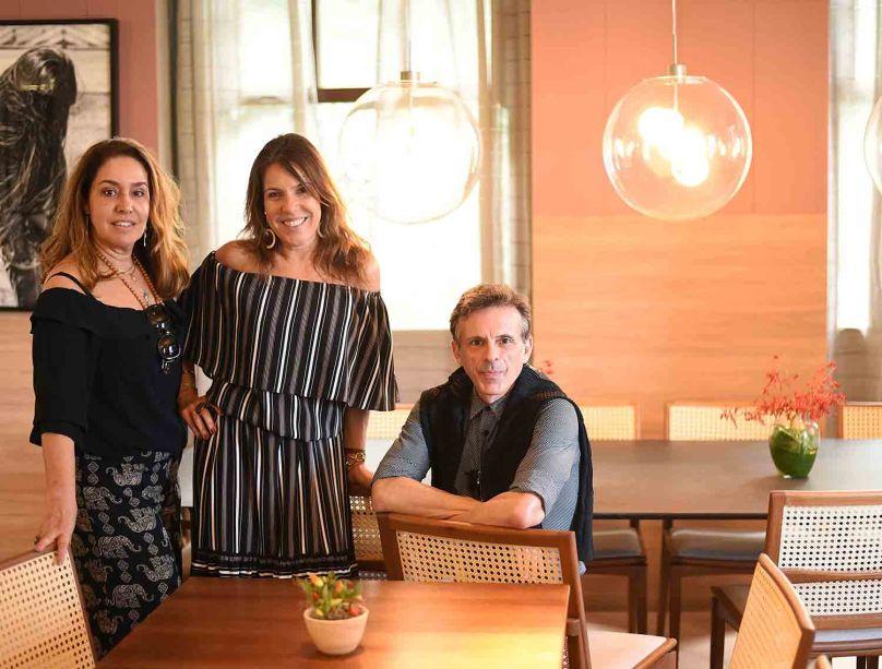 Anna Malta, Andrea Neves Duarte e Alexandre Schnabl