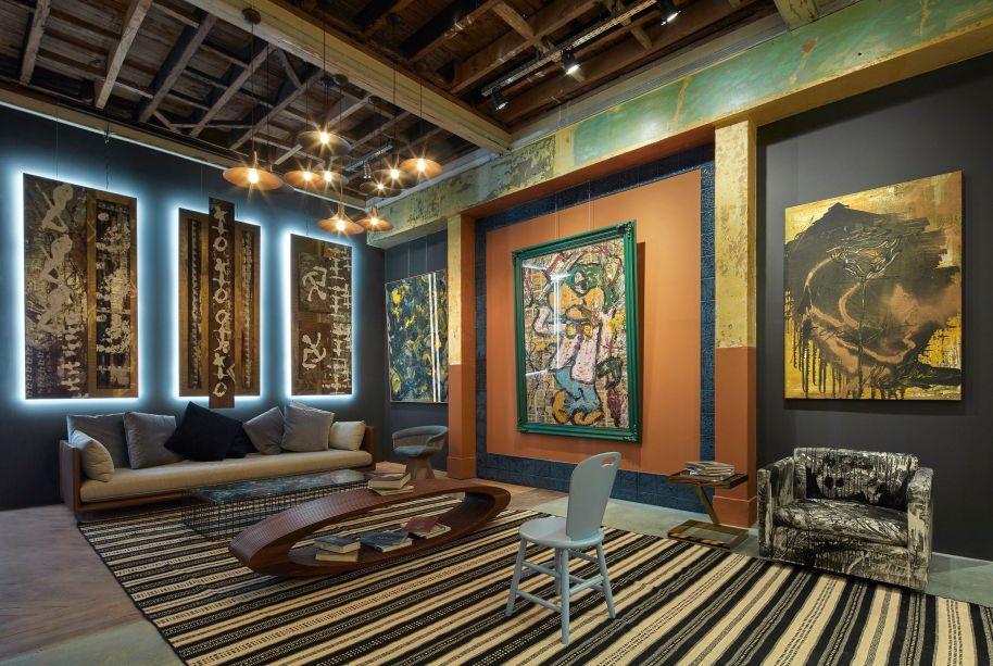 O Ateliê do Artista, de Matheus Goulart, é um espaço dedicado inteiramente a enaltecer obras de arte contemporânea, sendo alguns assinados pelo próprio Matheus. A decoração é uma mistura entre o estilo urbano despojado e toques de cor e dramaticidade do expressionismo.