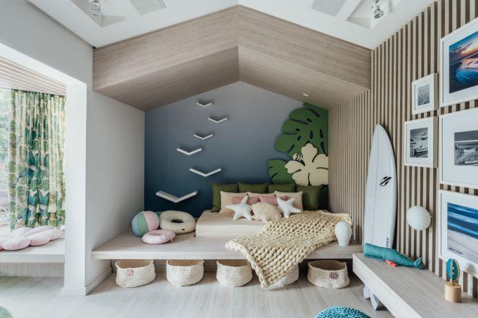 Dormitorio da Menina Surfista
