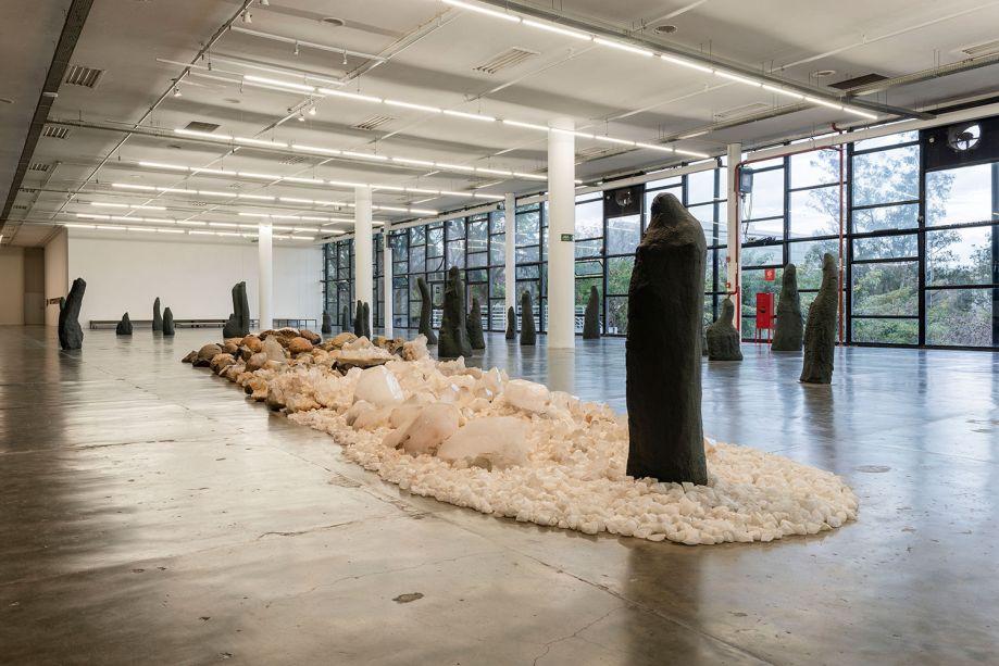 Exposição de Denise Milan.