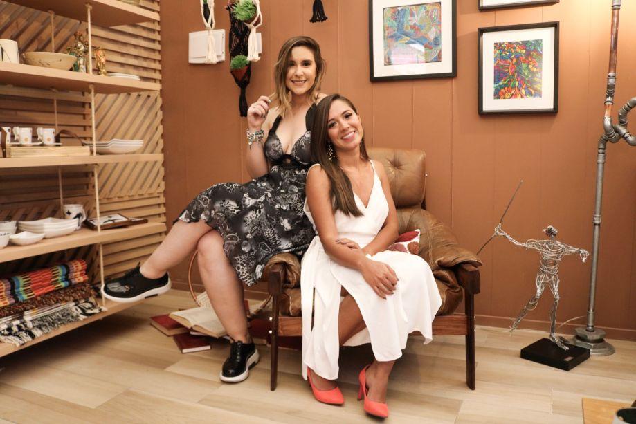 Julyanne Alves e Aline Ferreira