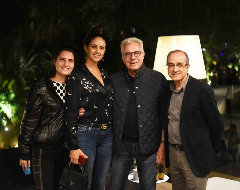 Maria Rachel Braga, Ana Paula Almeida, Marcio Braga e Ronaldo Lo Bianco