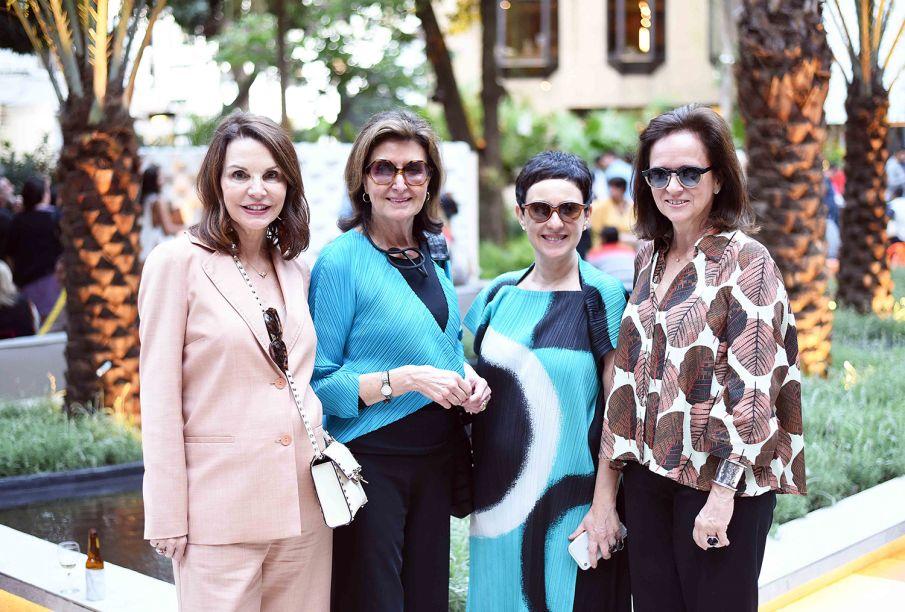 Patricia Mayer, Cris Ferraz, Livia Pedreira e Patricia Quentel