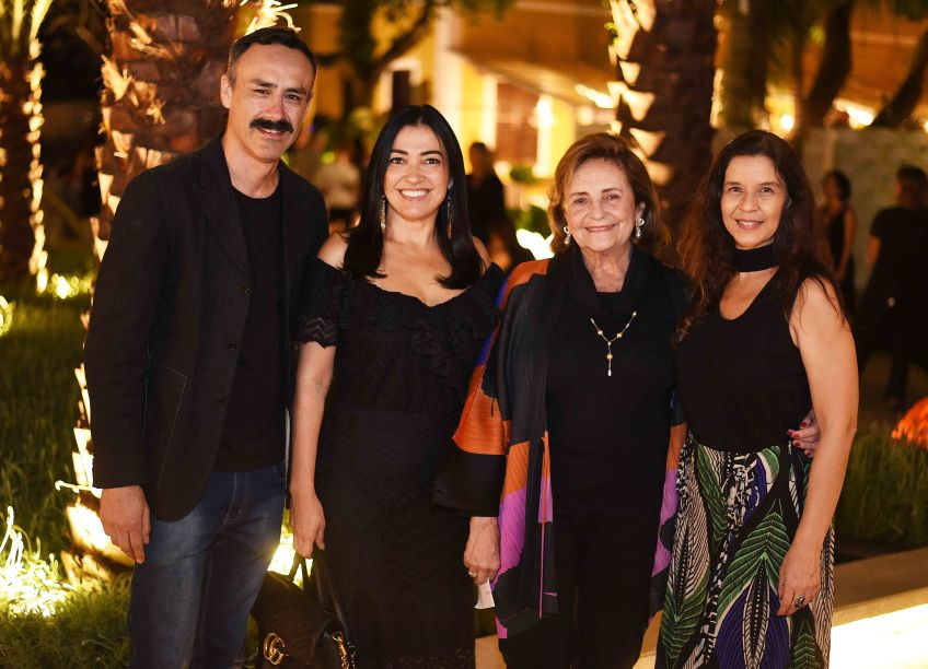 Roberto Romero, Cristina Cortes, Lucinha Araujo e Virna Carvalho