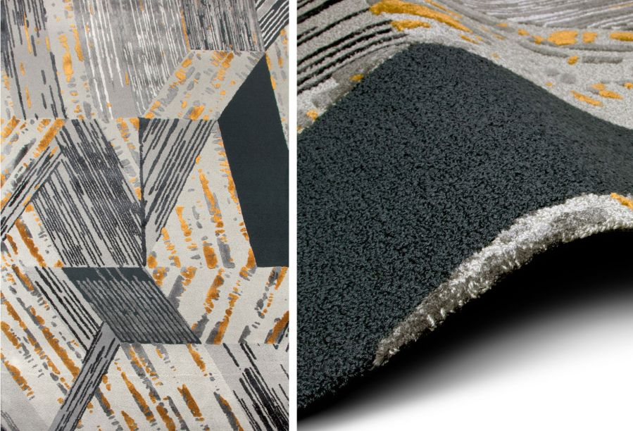 Rug Society – Juntamente com a Covet House, a marca apresentará seus tapetes em Paris e também em Londres em parceria com a marca Boca do Lobo. Uma das peças em exposição é o tapete Xisto, inspirado na textura das pedras e minerais.