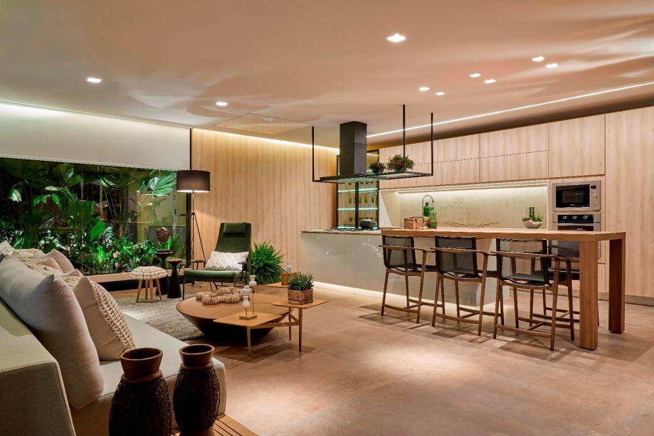 Sonho de cozinha e Sonho de sala: <b>Varanda Gourmet</b>, de Alessandra Moussa.