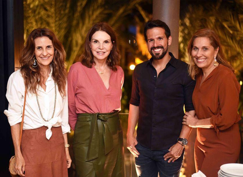 Cris Medici, Patricia Mayer, Bruno Carvalho e Bebel Sampaio