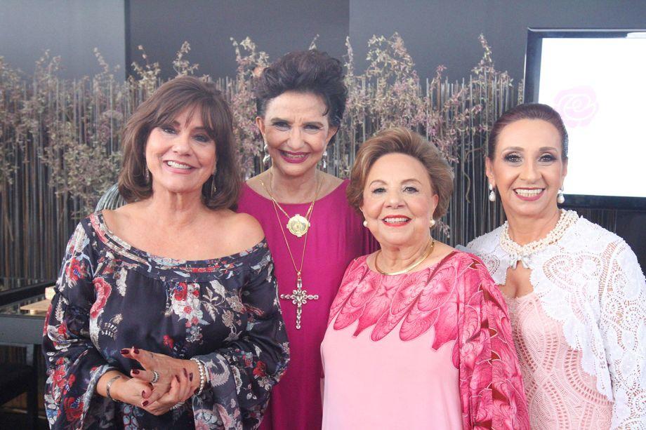 Ana Maria Gontijo, Moema Leão, Thereznha Falcão e Rita Márcia Machado