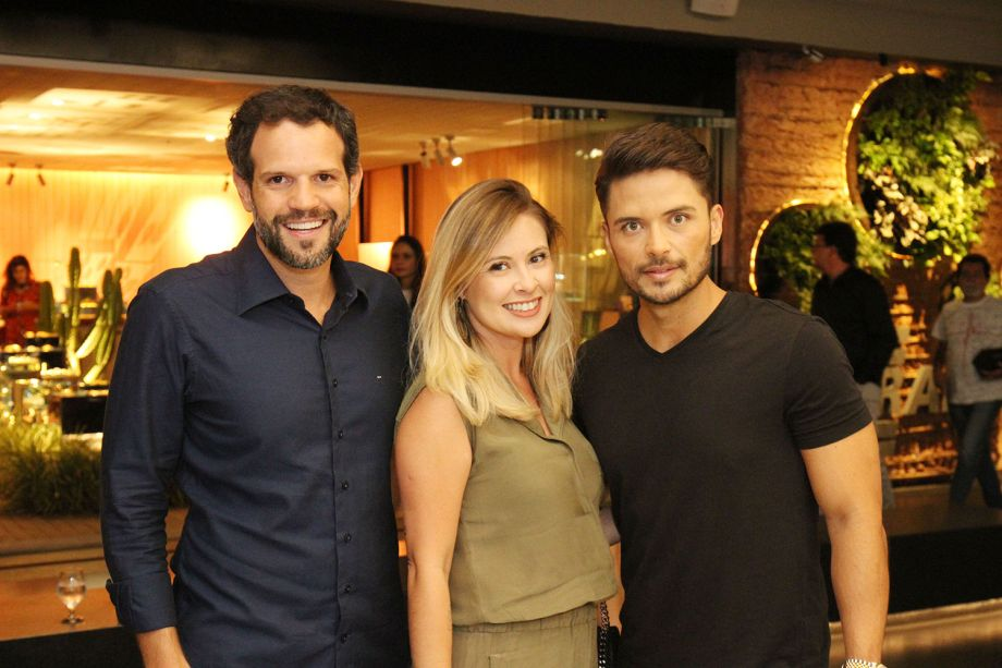 Arnaldo Pinho, Lygia e Guilherme Rodrigues