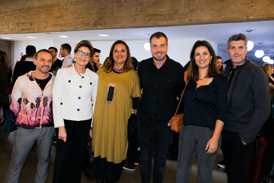 José Marton, Cris Ferraz, Silvia Peskir,Rodrigo Einsfeld, Paula Magnani e Gustavo Martins