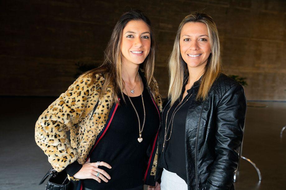Mayara Clá e Natasha Haddad