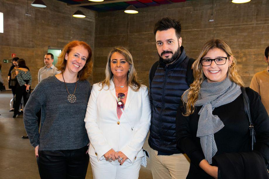 Bruna Russo, Ana Paula Porto, João Ribeiro e Juliana Fadiga