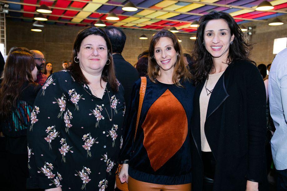 Fátima Barnabé, Flávia Gerab e Graziela de Caroli