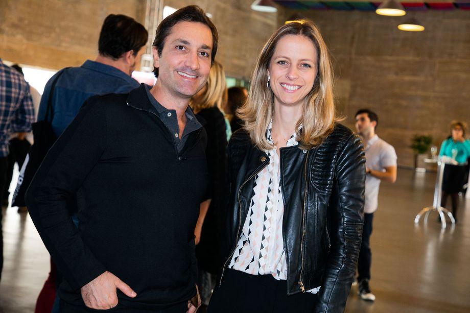 Fred Benedetti e Patrícia Martinez