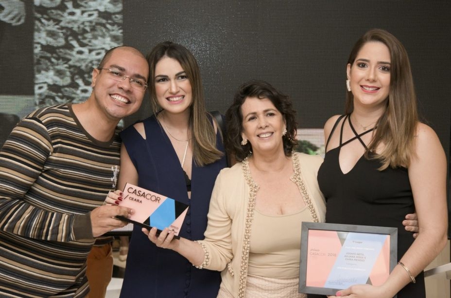 Josafá Neto, Juliana Hissa, Neuma Figueiredo e Zaíra Mendes.