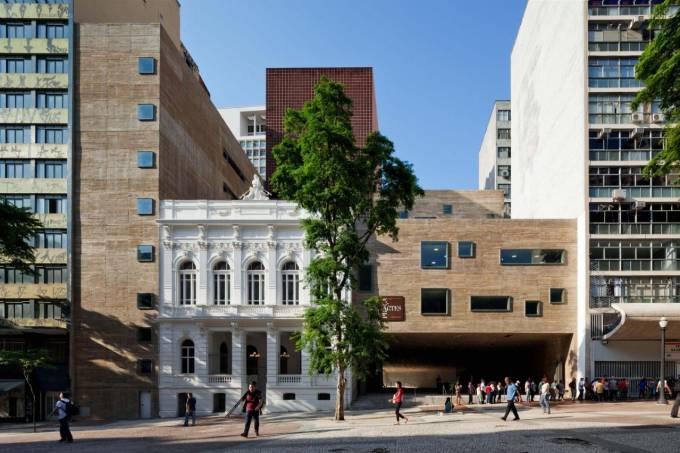 Fachada Praça das Artes