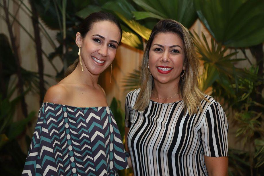Flávia Carvalho e Adriana Vasconcelos