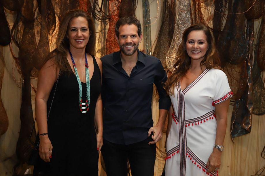 Isabel Veiga, Arnaldo Pinho e Monica Pinto