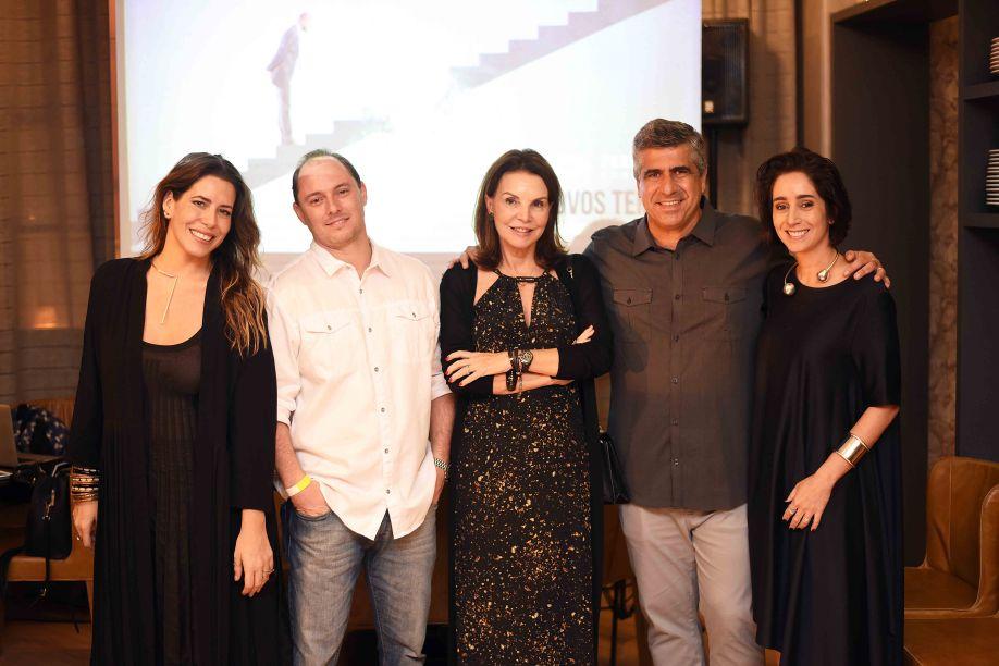 Luiza Bomeny, Bruno Carone, Patricia Mayer, Wagner Lofare e Antonia Leite Barbosa