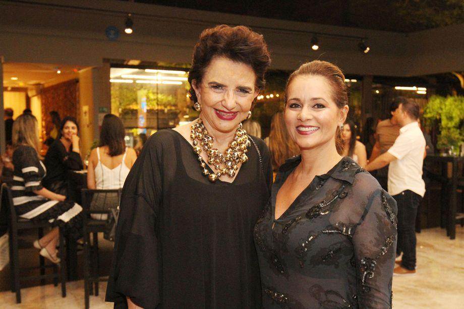 Moema Leão e Mônica Pinto
